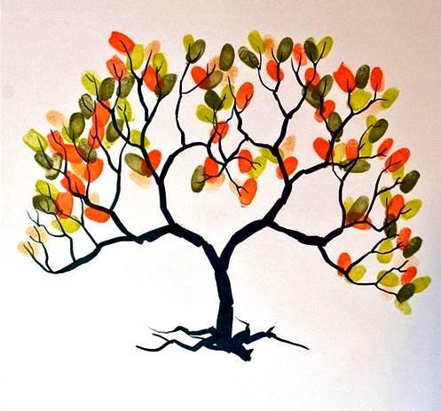 arredissima albero impronte