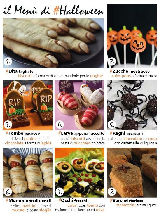 Il menù di Halloween by Arredissima